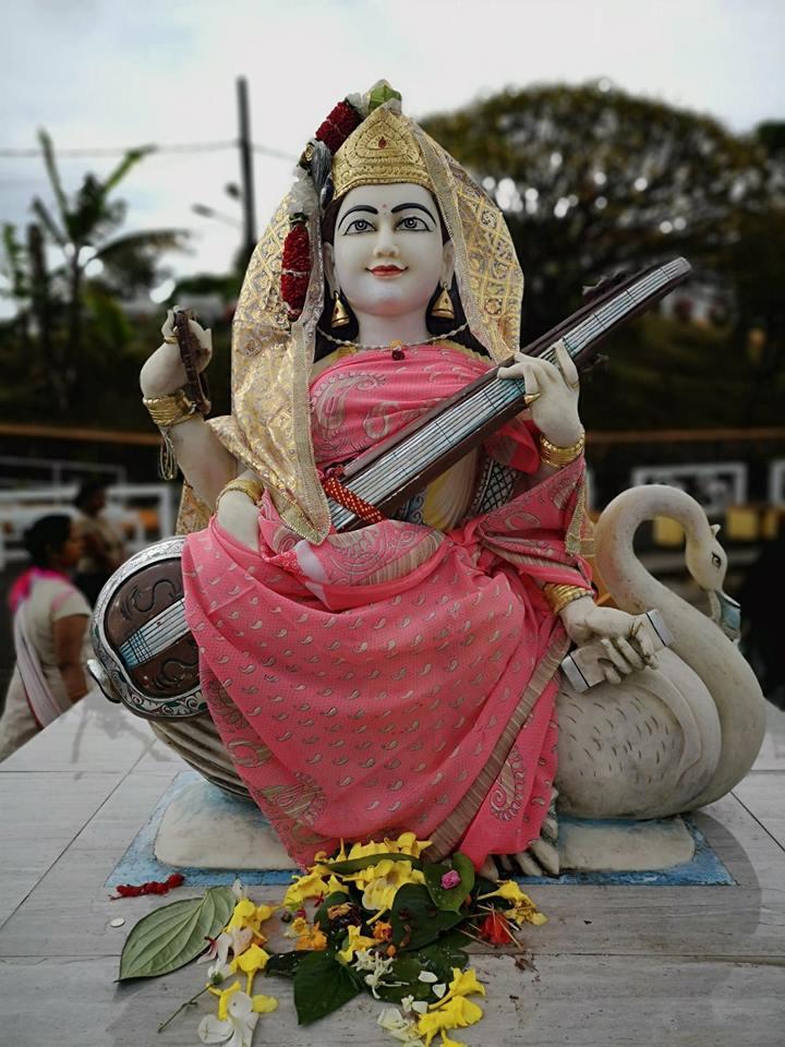 grand bassin ganga talao mauritius statuie hindusa hinduism hindi statue