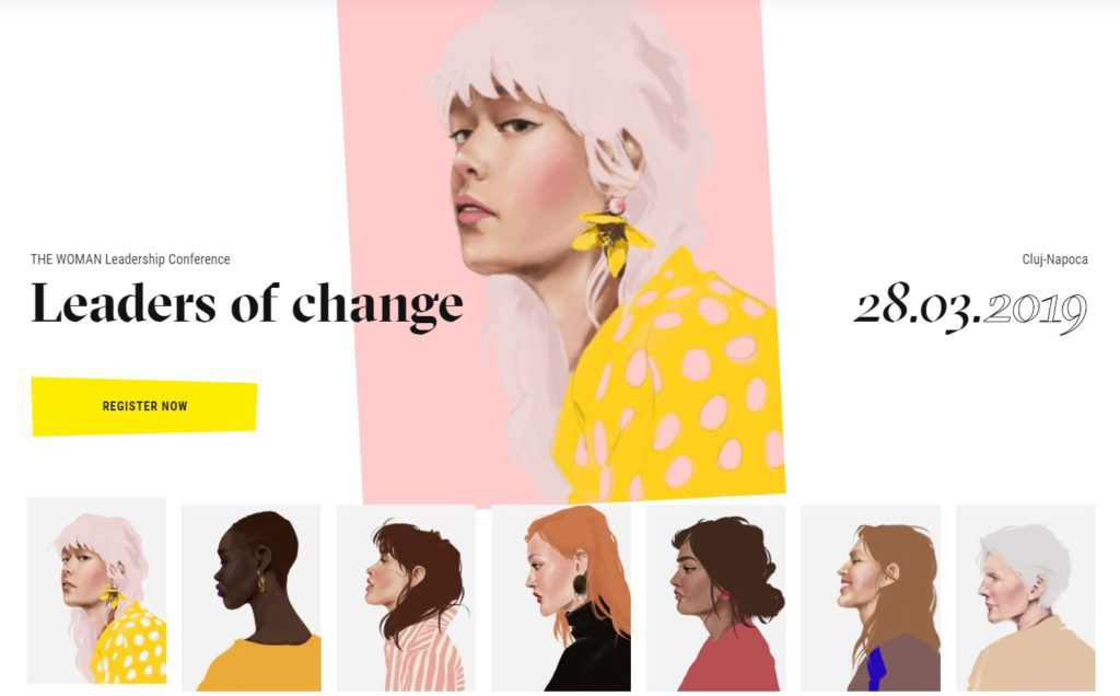 leaders of change - the woman confrence cluj-napoca, conferinta cluj, 28 martie 2019