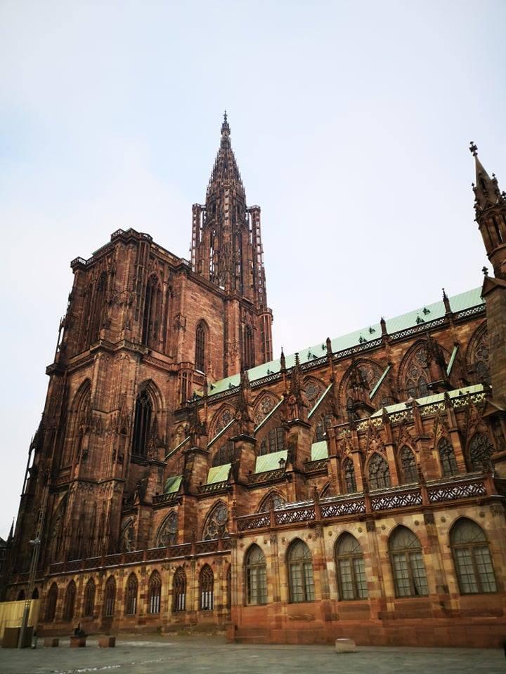 catedrala strasbourg franta